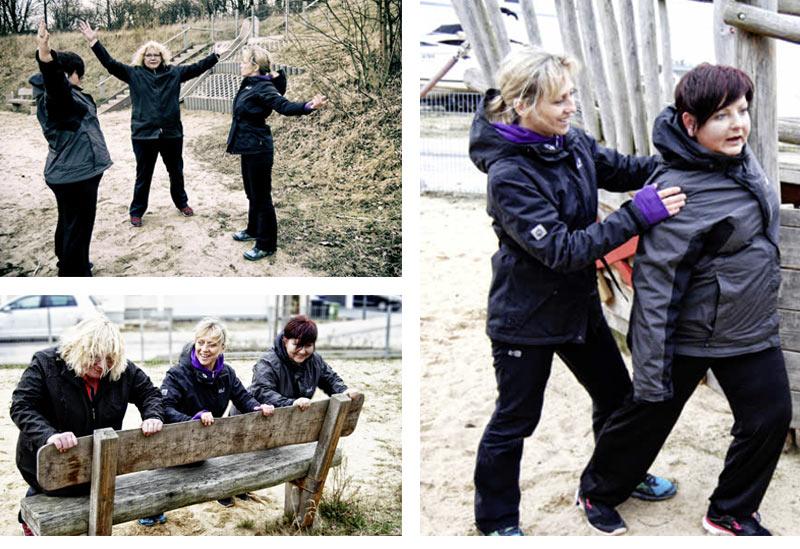 Britta Friedrich Workout Outdoor PLUS Training für Übergewichtige